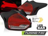 Zadné la'd svetlá Ford Focus 3 15-18 hatchback červená bílá  SEQ LED