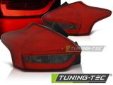 Zadné l'ad svetla Ford Focus 3 15-18 hatchback červená kouřová led