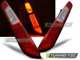 Zadné la'd svetlá Ford Focus MK2 08-10 HB červená bílá led