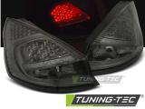 Zadné la'd svetlá Ford Fiesta MK7 08-12 HB kouřová led