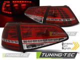 Zadná l'ad svetlá VW Golf 7 13-17 červená bílá led sport SEQ