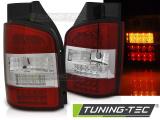 Zadná l'ad svetlá VW T5 10-15 transporter červená bílá