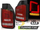Zadná l'ad svetlá VW T6 15-19 transporter červená bílá led bar
