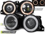Predné svetlá BMW E30 11/82-06/94 Angel Eyes černá