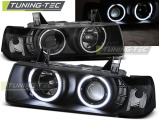 Predné svetlá BMW E36 12,90-08,99 C/C Angel Eyes CCFL černá