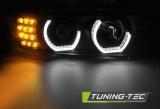 Predné svetlá BMW E39 09/95-06/03 Angel Eyes 3D černá TUNINGTEC