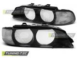 Predné svetlá BMW E39 95-00 černá bílá D2S