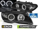 Predné svetlá BMW E46 04/03-06 coupe cabrio Angel Eyes CCFL černá xenon