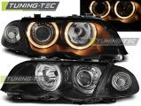 Predné svetlá BMW E46 05/98-08/01 S/T Angel Eyes černá