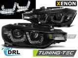 Predné svetlá BMW F30/F31 10/11-05/15 černá U-led xenon