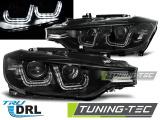 Predné svetlá BMW F30/F31 10/11-05/15 černá U-led