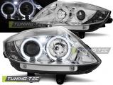 Predné svetlá BMW Z4 E85 E86 02-08 Angel Eyes chrom