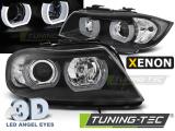 Predné svetlá BMW E90/E91 03/05-08/08 U-led 3D černá xenon