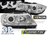 Predné svetlá BMW E90/E91 03/05-08/08 U-led 3D chrom xenon