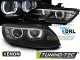 Predné svetlá BMW E92 / E93 06-10 Angel Eyes led černá
