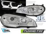 Predné svetlá BMW X5 E70 07-13 DRL chrom