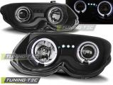 Predné svetlá Chrysler 300 M 99-04 Angel Eyes černá