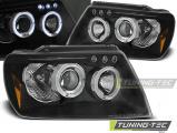 Predné svetlá Chrysler Jeep Grand CHerokee 99-05/05 Angel Eyes černá