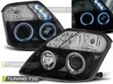 Predné svetlá Citroen C2 09/03-10 Angel Eyes černá