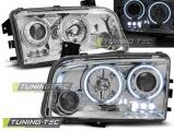 Predné svetlá Dodge Charger LX 06-10 Angel Eyes CCFL chrom