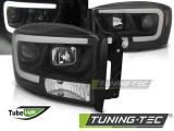 Predné svetlá Dodge Ram 06-08 černá