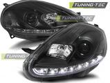Predné svetlá Fiat Grande Punto 08-09 černá