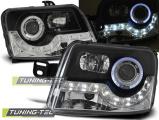 Predné svetlá Fiat Panda 03-12 černá
