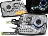 Predné svetlá Fiat Panda 03-12 chrom