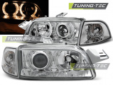 Predné svetlá Fiat Punto 1 11,93-09,99 Angel Eyes chrom