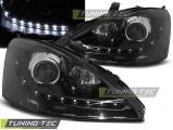 Predné svetlá Ford Focus 10/98-10/01 černá