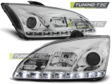 Predné svetlá Ford Focus II 09/04-01/08 chrom