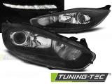 Predné svetlá Ford Fiesta MK7 13-16 led DRL černá