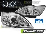 Predné svetlá Ford Focus II 02/08-10 Angel Eyes CCFL chrom