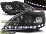 Predné svetlá Ford Focus II 02/08-10 černá W/M