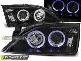 Predné svetlá Ford Mondeo 09/00-05/07 Angel Eyes černá