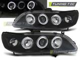 Predné svetlá Honda Accord 98-02 Angel Eyes černá (USA)