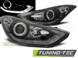 Predné svetlá Hyundai Elantra 11/10-15 černá led