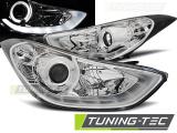 Predné svetlá Hyundai Elantra 11/10-15 chrom led