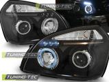 Predné svetlá Hyundai Tucson 07/04-10 Angel Eyes  černá