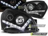 Predné svetlá Hyundai Tucson 07/04-10 černá