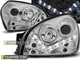 Predné svetlá Hyundai Tucson 07/04-10 chrome