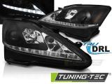 Predné svetlá Lexus Je 06-13 DRL černá