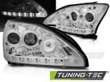 Predné svetlá Lexus RX 330/350 03-08 chrom