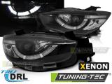 Predné svetlá Mazda CX5 11-15 černý pravý DRL xenon