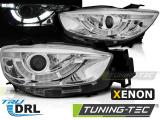 Predné svetlá Mazda CX5 11-15 chrom pravý DRL xenon