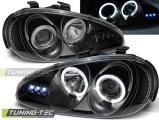 Predné svetlá Mazda MX3 91-98 Angel Eyes černá