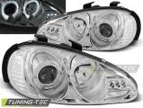 Predné svetlá Mazda MX3 91-98 Angel Eyes chrom