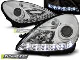 Predné svetlá Mercedes R171 SLK 04-11 chrom