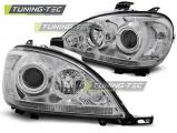 Predné svetlá Mercedes W163 ML/M 03/98-08/01 chrom
