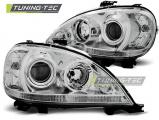 Predné svetlá Mercedes W163 ML/M 09/01-05 chrom